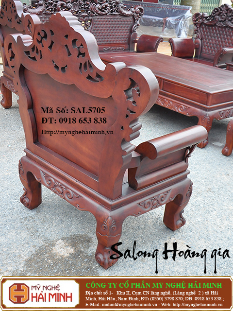 SAL5705l  Salong Hoang gia  do go mynghehaiminh