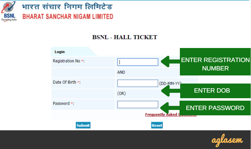 BSNL JAO Admit Card 2017 / Hall Ticket Released   Download Here
