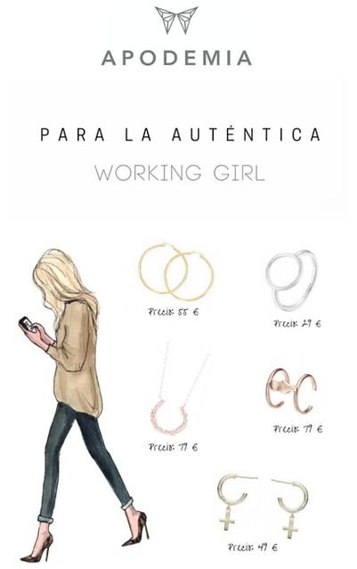 Apodemia working girl