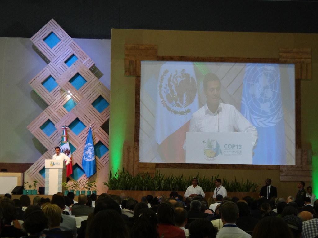 2 墨西哥總統尼托在開幕致詞時宣布該國新增三個海洋保護區,使海洋保護區總面積佔其領海22%,達成愛知目標第11項的要求。