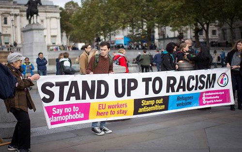 Stand Up to Racism @ UFFC Rally London 2017 - Image credit Khushbu Hussain | by 4WardEver UK