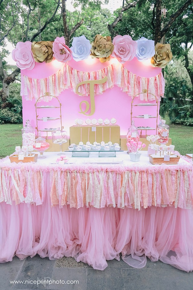 Pauleen Luna Pretty In Pink Baby Shower Sweets 2 Flickr
