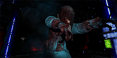 Do you DARE?! This is what you see and battle against - in immersive 3D, as if the zombie is right in front of you!