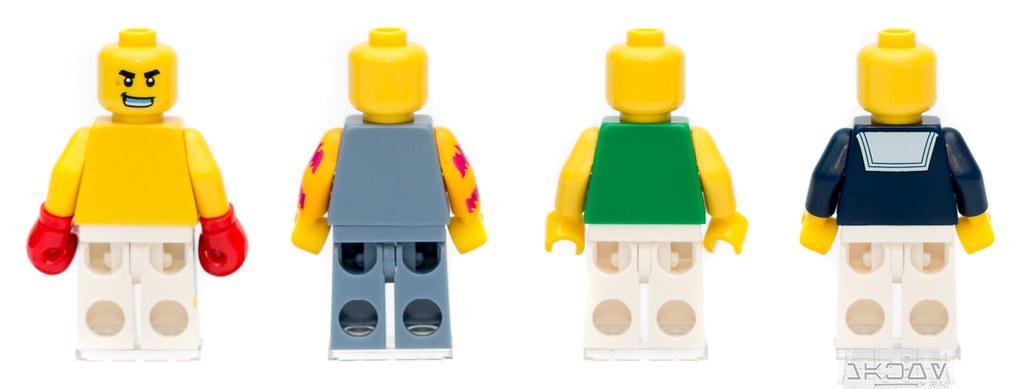 Lego flower child minifigure complete from 5004941 bricktober 2017 tru exclusive