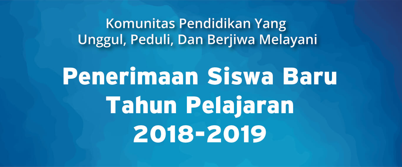 1 Nov 2017: Pembukaan Pendaftaran Murid Baru Tahun Pelajaran 2018-2019