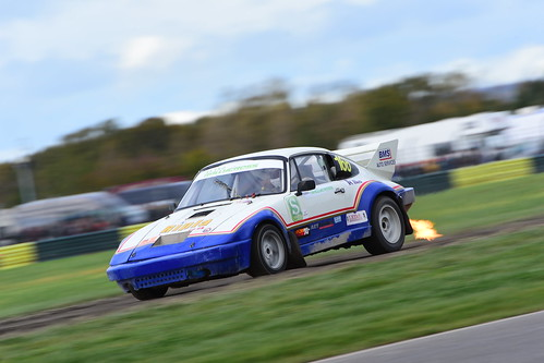 Barry Stewart, Porsche 911, British Rallycross Championship - British Rallycross Grand Prix, Croft 2017