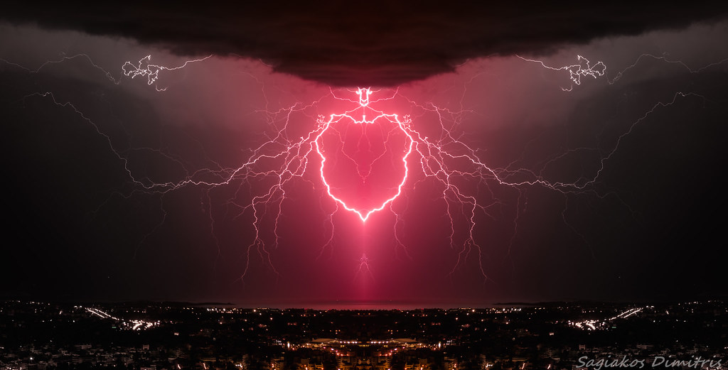 Heart Shaped Lightning