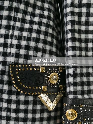 Dettaglio Giacca Versace Vintage