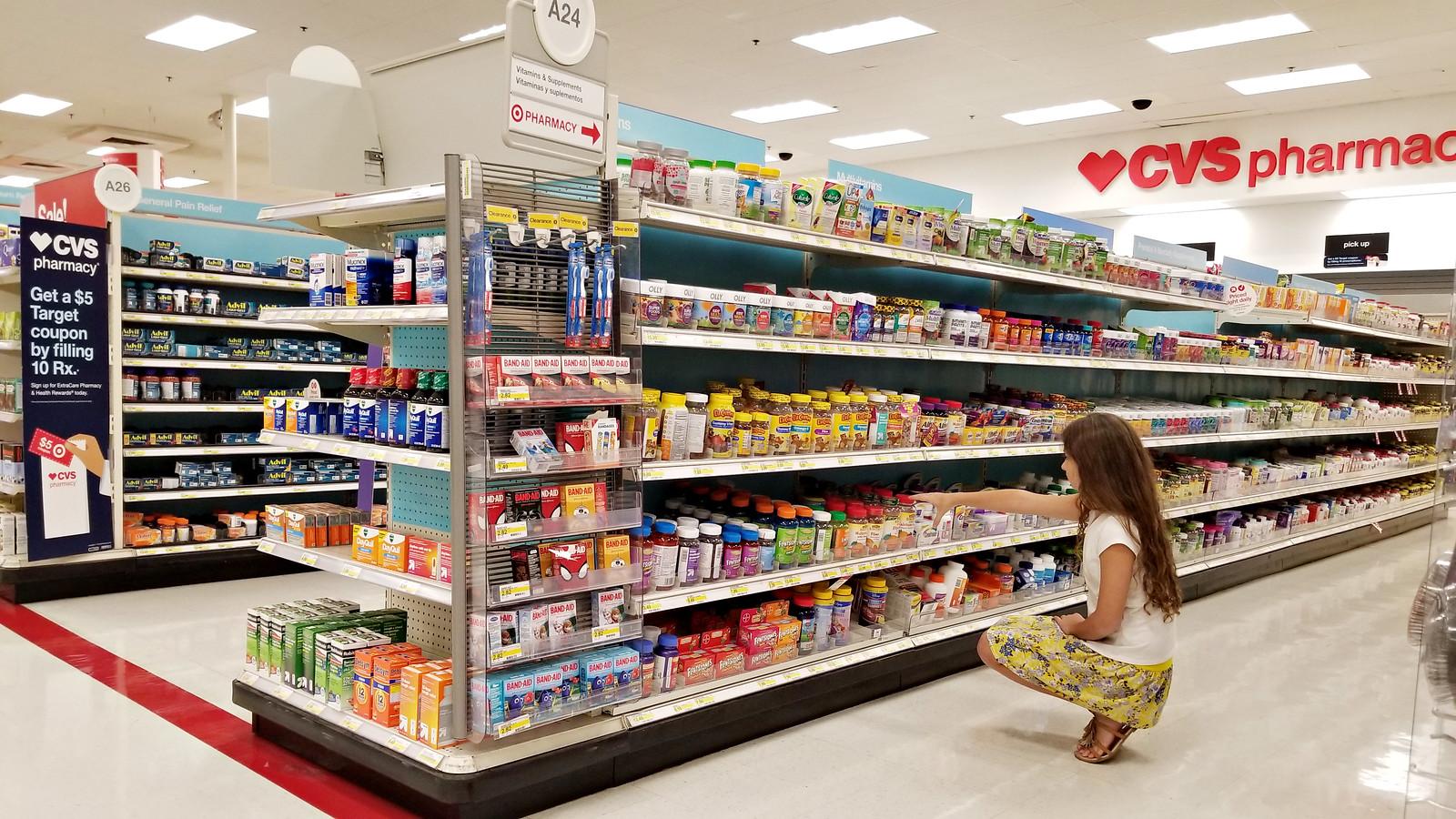 vitamins at Target