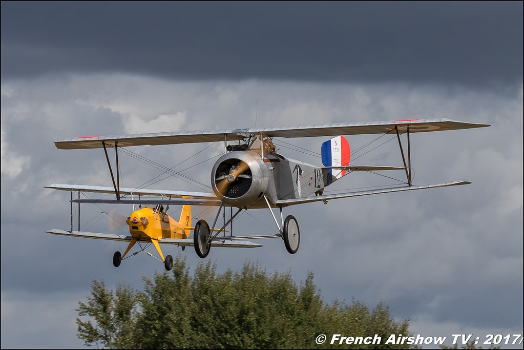 réplique SE5 ULM & Rénégade, Evocation 14/18 labélisation , Legend Air en Limousin 2017 , aérodrome de Saint Junien 2017 , Meeting Aerien 2017