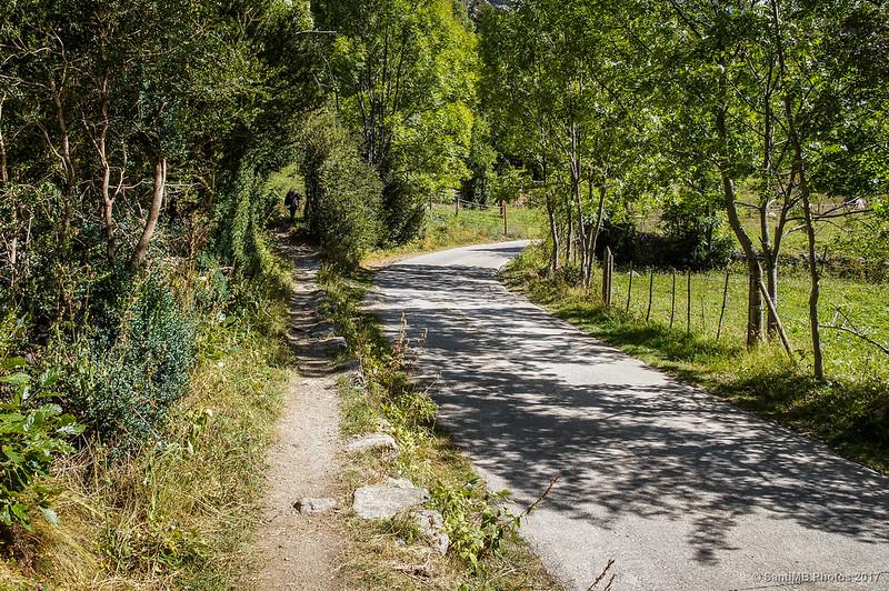 La Ruta de la Nutria y la pista de Aigüestortes