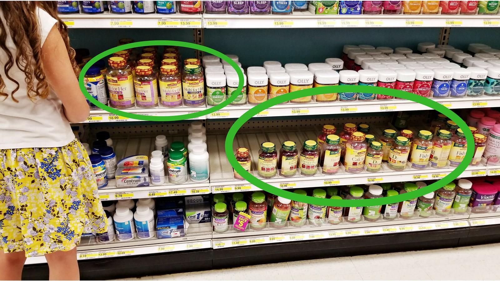 nature made vitamins at target