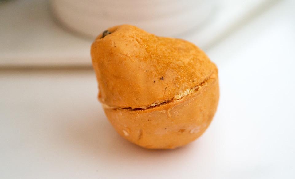 lush golden pear