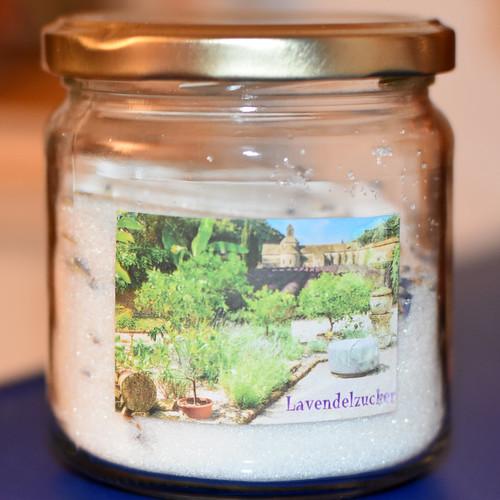 Lavendelzucker für Crème Brulée ... Brigitte Stolle