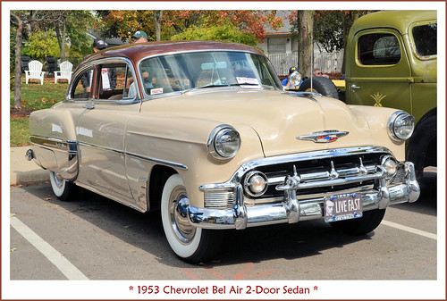 1953 Chevrolet Bel Air Two Door Sedan The October 7