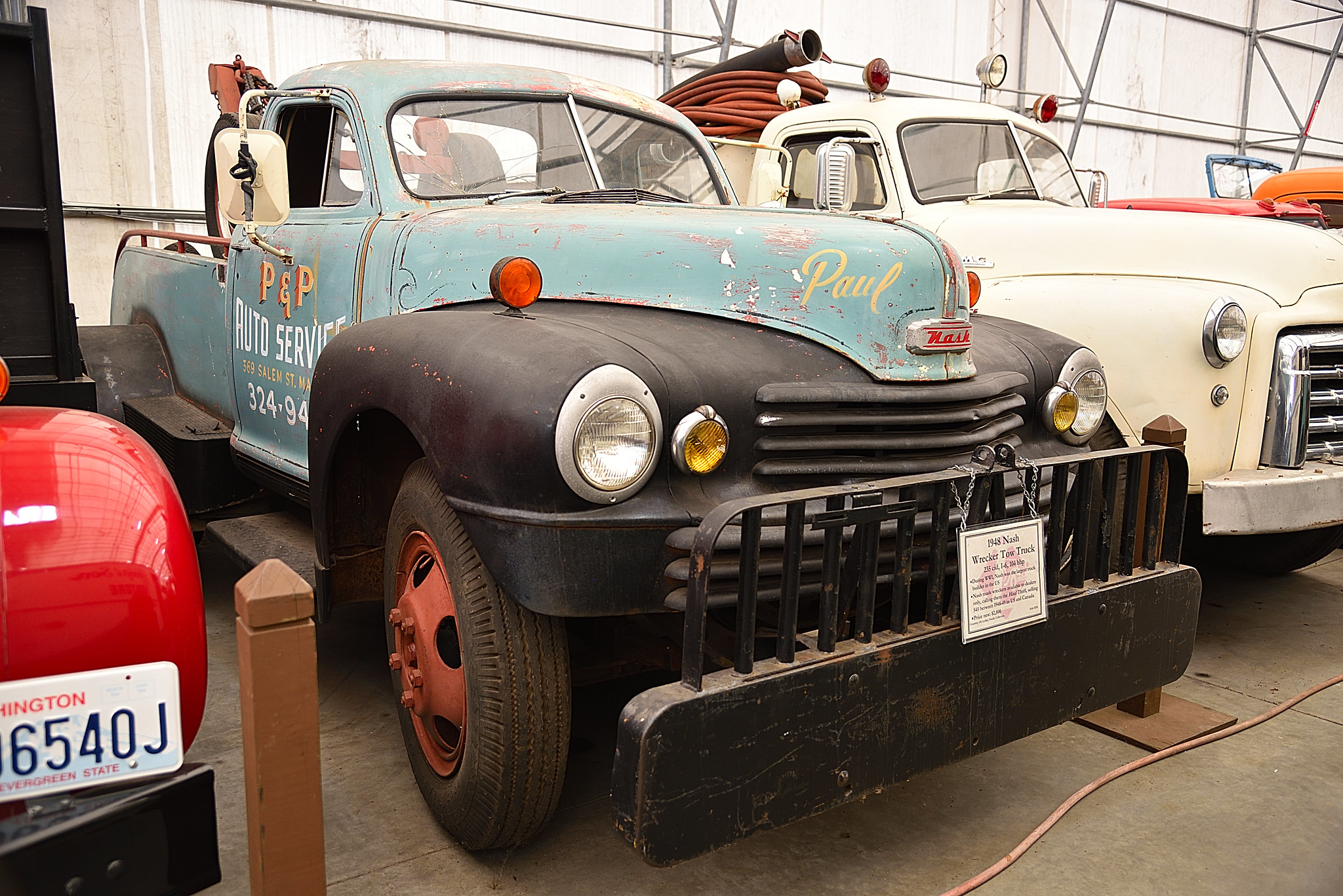Studebake Cab On Nash Wrecker 1954 Dodge Tow Truck Craig