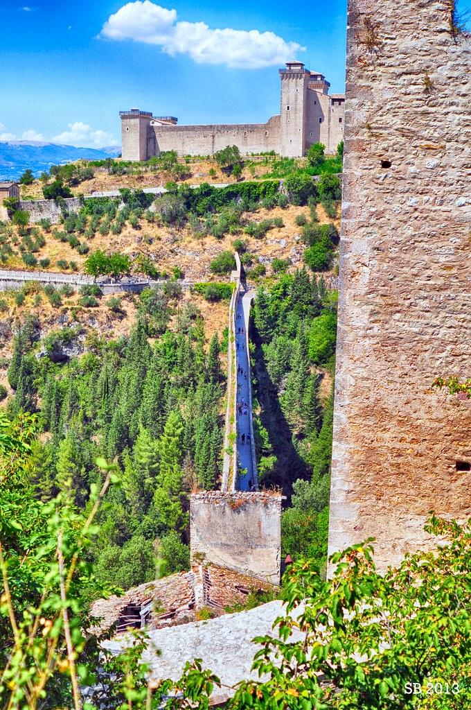 Ponte delle Torri Rocca Albornoziana (Spoleto) I