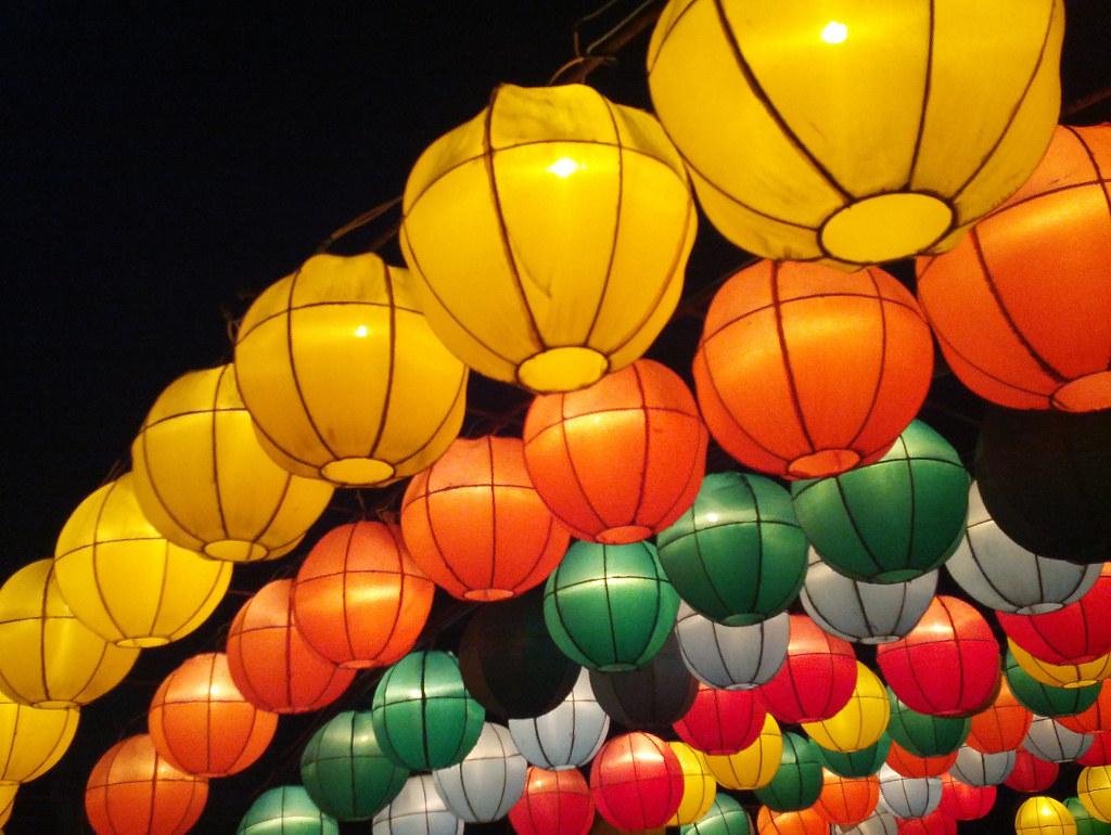colorful paper lanterns stwn flickr