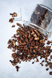 Chocolate Coffee Keto Granola {Grain-free, gluten-free, paleo} | by Tasty Yummies