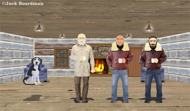 Inside the new cabin ©Jack Boardman