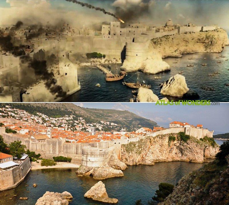 Knightfall rodada en Dubrovnik