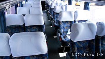 Interior de bus