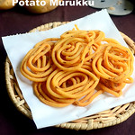 Potato murukku recipe - Aloo Chakli