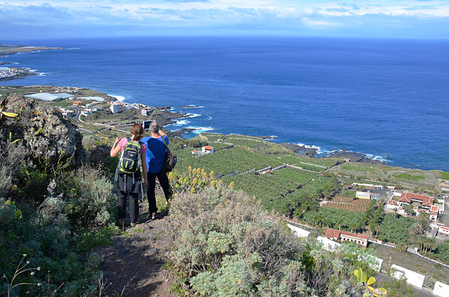 Enjoying the view, Garachico, Tenerife