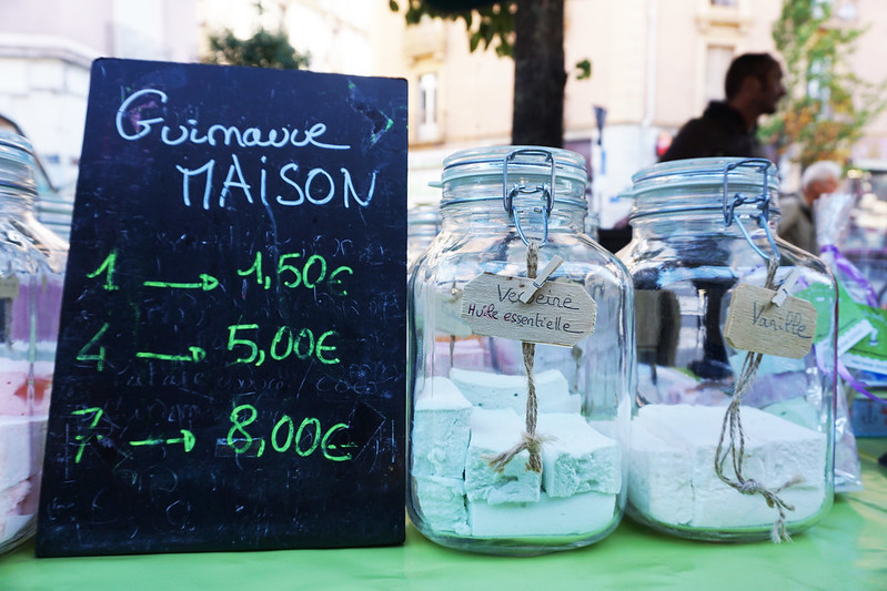 Grenoble farmers market