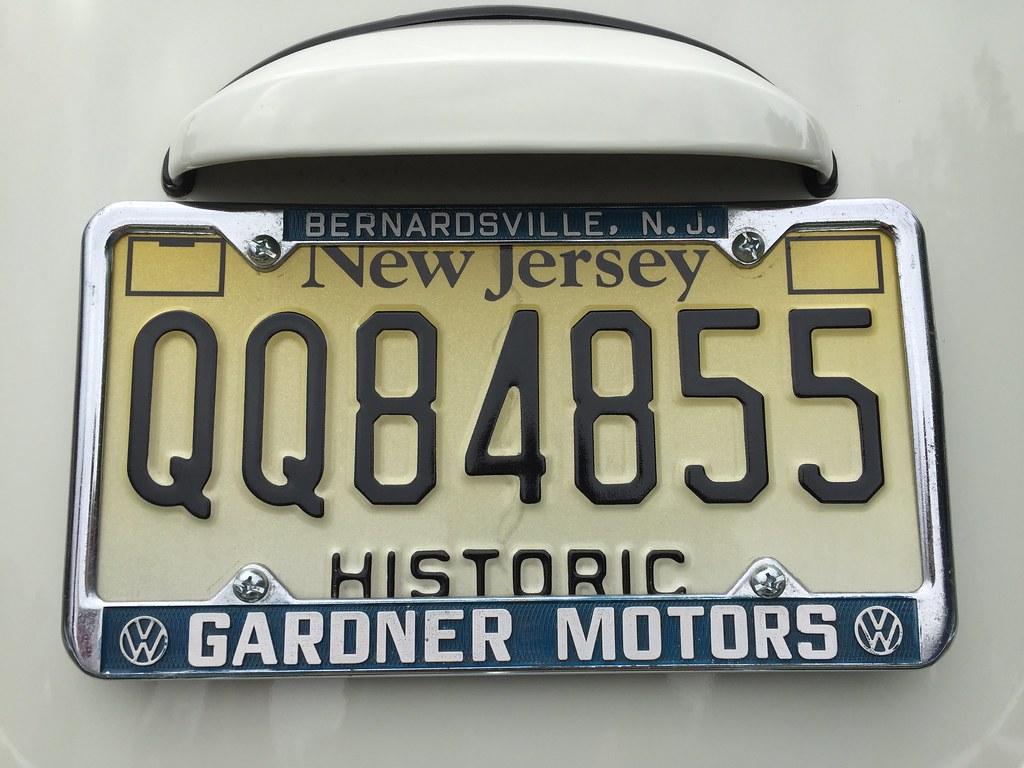 by 63vwdriver Vintage VW dealer license plate frame. | by 63vwdriver & Vintage VW dealer license plate frame. | Gardner Motors Ber\u2026 | Flickr