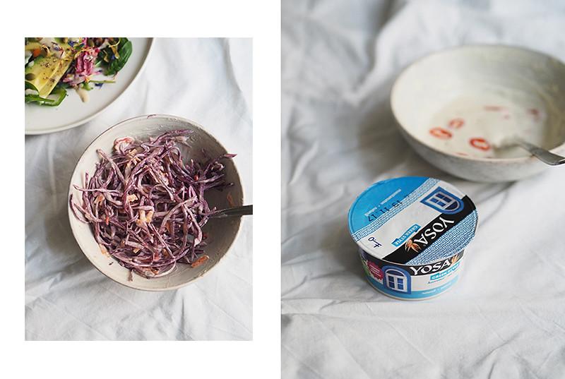 vegaaninen chili coleslaw