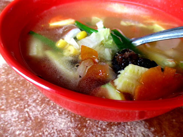 Hua Kee, sweet corn soup