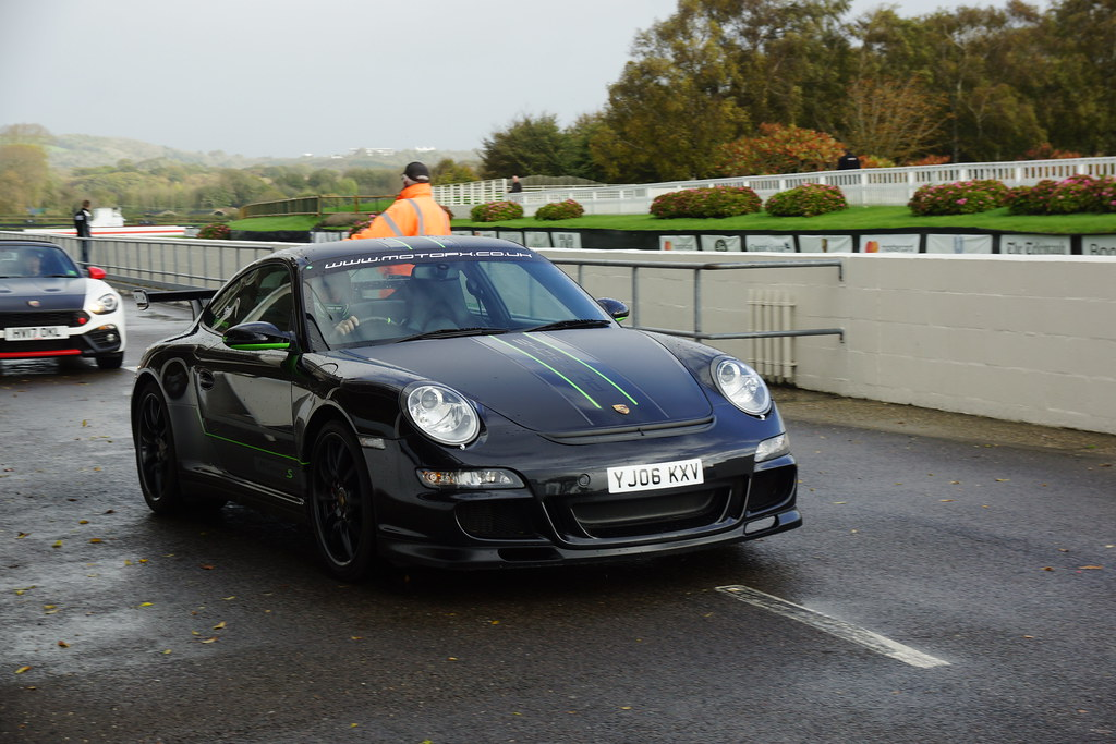 Porsche 911 Carrera 4 S 2006 Peter Saywell Track Day Goo Flickr