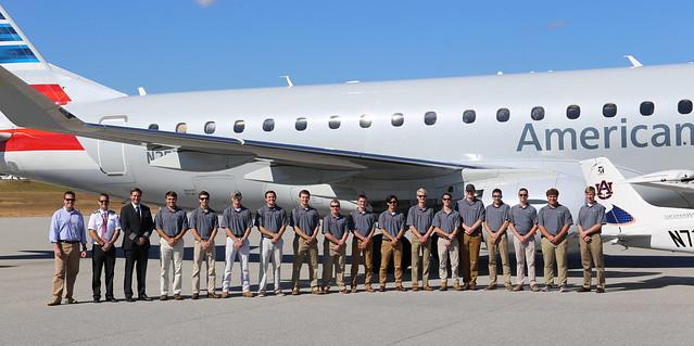 Auburn's War Eagle Flying team