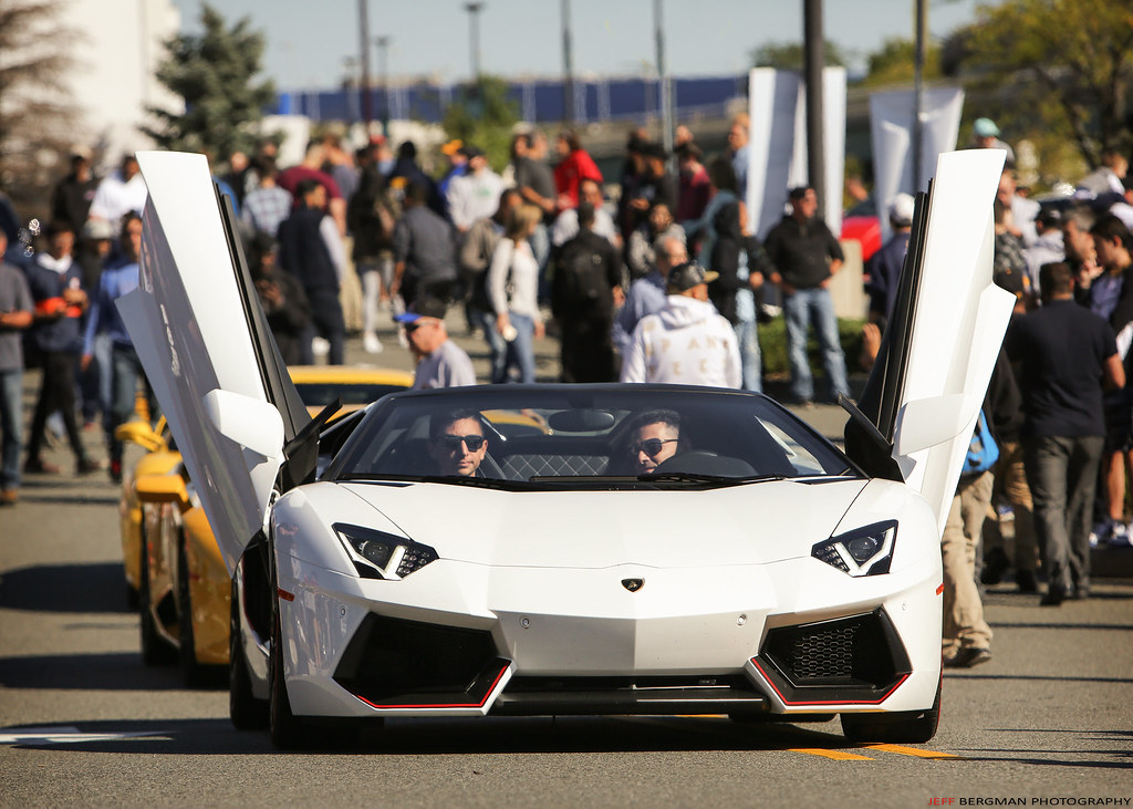 Doors Up...on the Lamborghini Aventador | by Jeff_B. & Doors Up...on the Lamborghini Aventador | Cars u0026 Caffe @ Garu2026 | Flickr