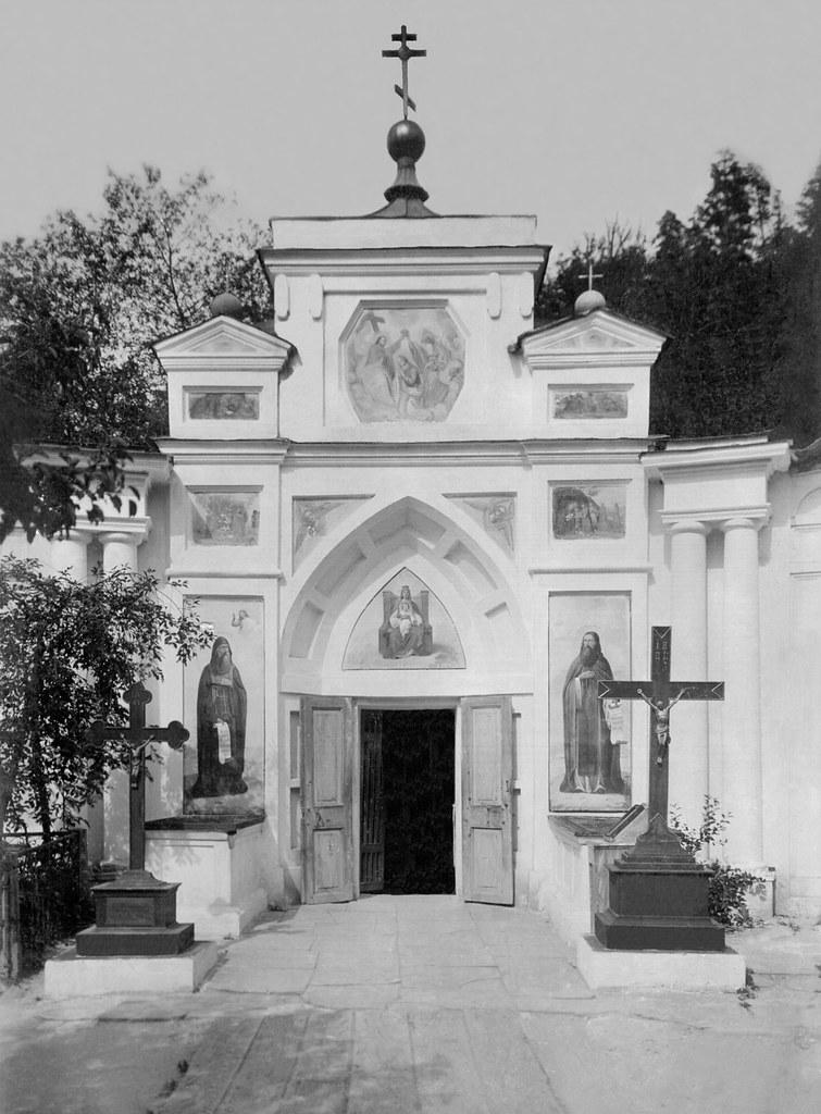 Церковь преподобных Антония и Феодосия. Фото XIXв.
