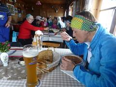 Mahlzeit auf der Stevia Hütte