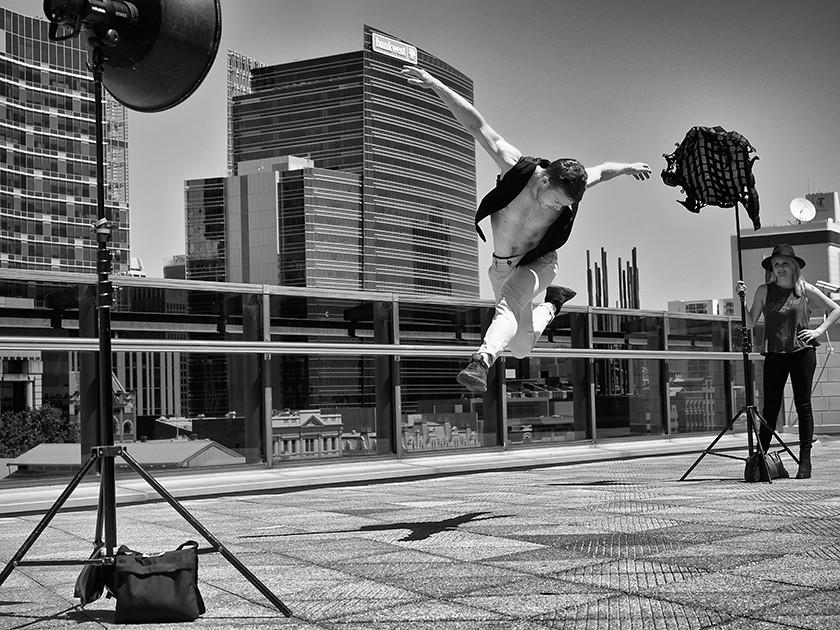 Dancer At Perth Skyline Taken During Frances Andrijich Wor Flickr