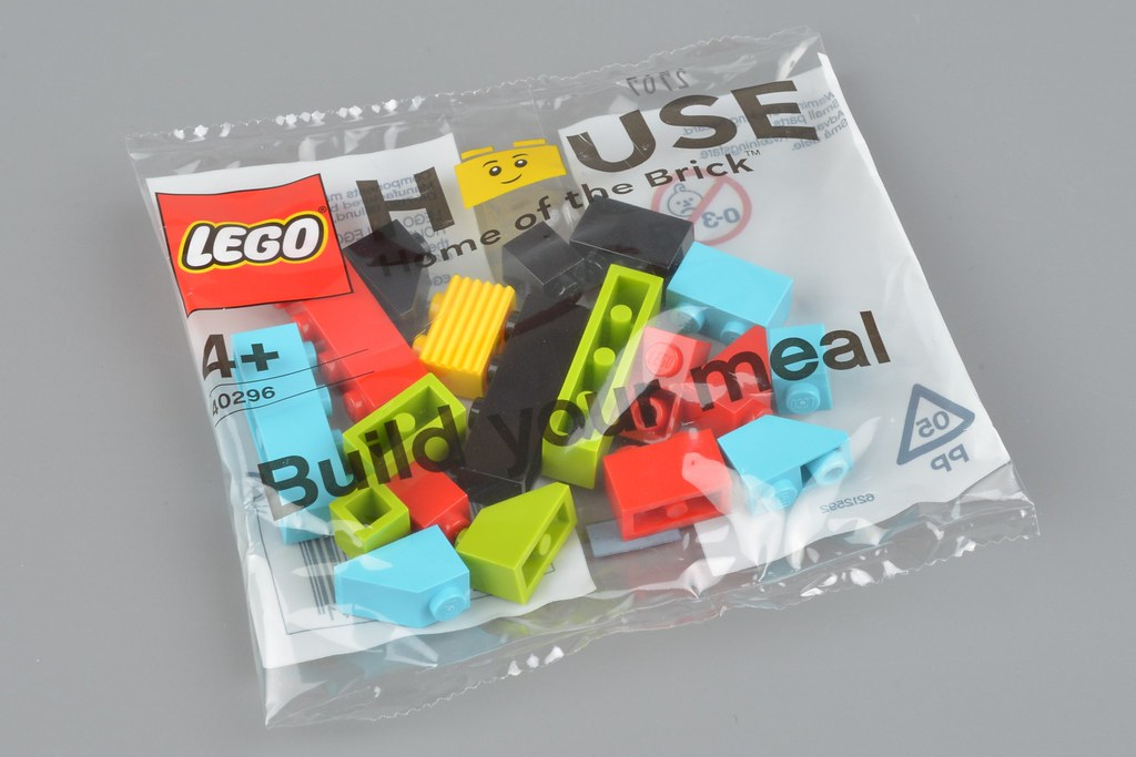 LEGO Promotional 40296 LEGO House Build Your Meal Brick Bag review