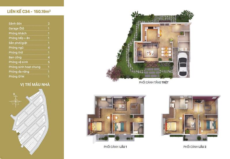 12 thiết kế mẫu nhà liên kế tại RioVista quận 9 11