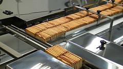 Испытание линии подачи печенья