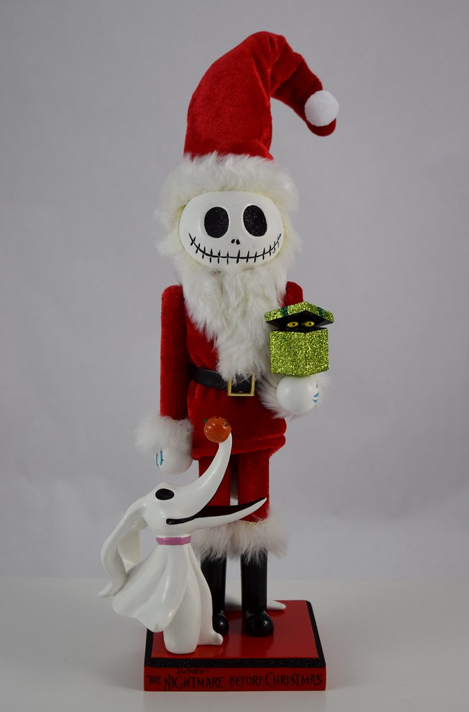 santa jack nutcracker by disney parks disneyland purchase front view by drj1828 - Nightmare Before Christmas Nutcracker
