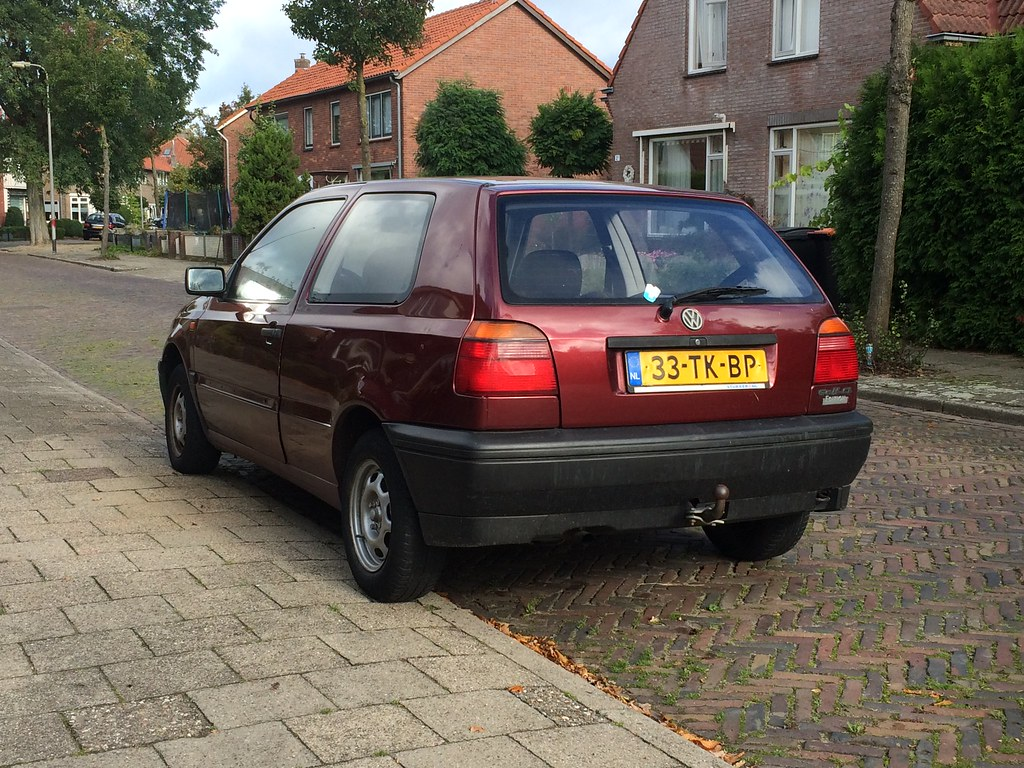 ... 1993 Volkswagen golf mk3 (33-tk-bp) | by randomuser8