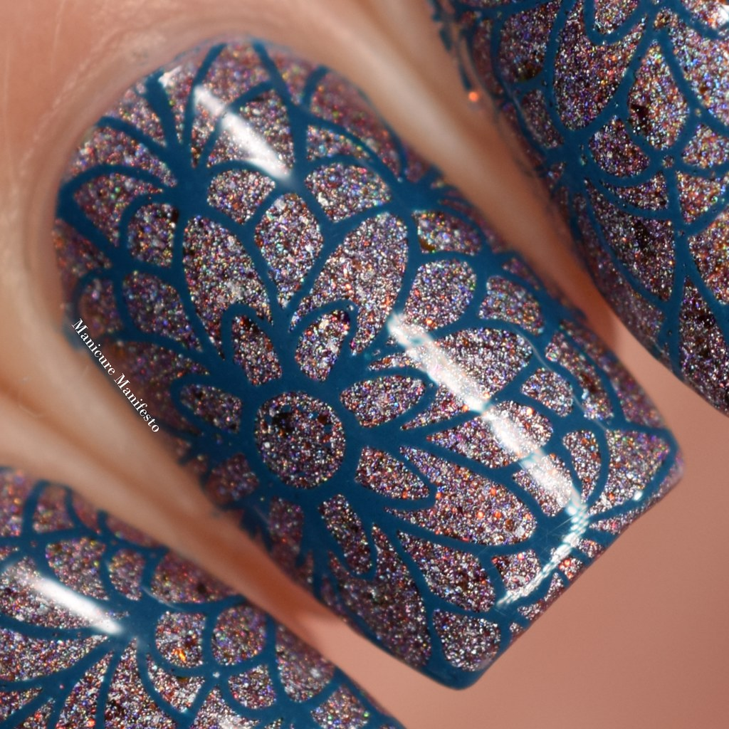 Girly Bits Sea You Next Fall stamping polish