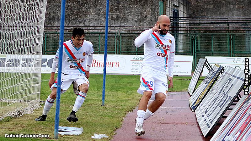 Andrea Di Grazia e Ciccio Ripa, entrambi a segno a Pagani