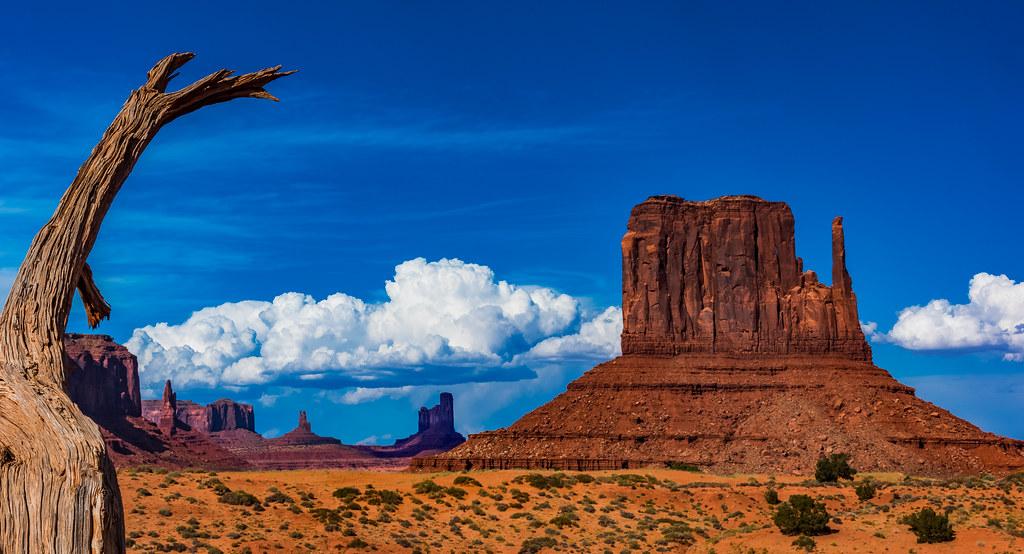 West Mitten Butte Monument Valley Navajo Tribal Park 201