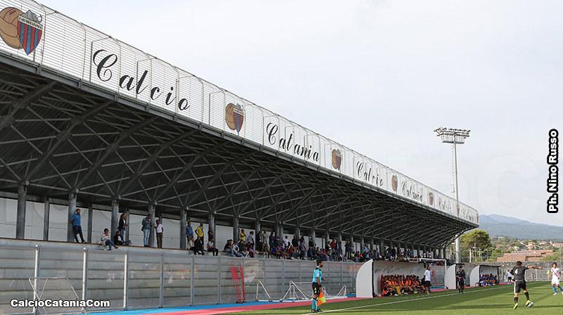 Campo 3 di Torre del Grifo, scenario delle gare di sabato e domenica contro il Siracusa
