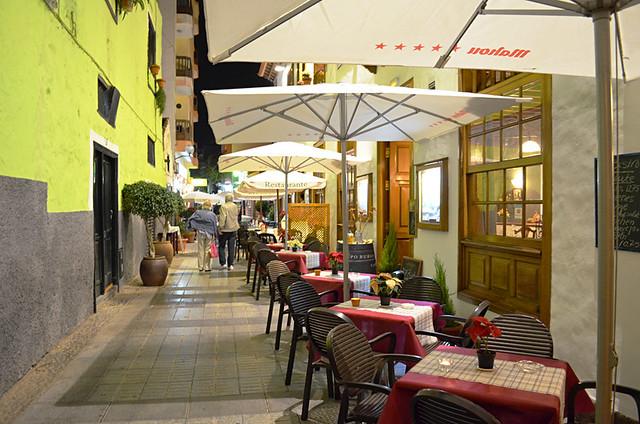 Restaurants, Puerto de la Cruz, Tenerife