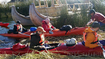 Kayak al nivel del Lago