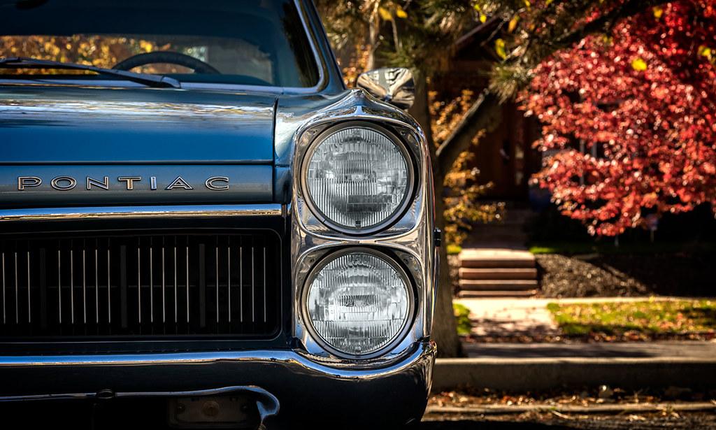 1967 Pontiac Le Mans headlights
